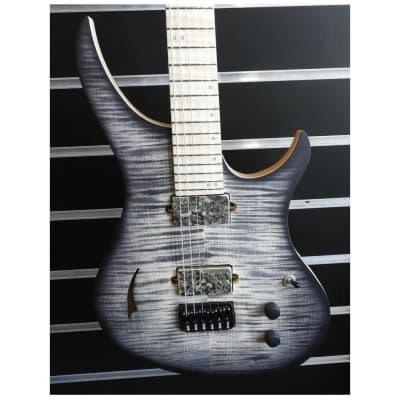 Skervesen 4AP Soul 6 Electric Guitar Flamed Maple Bare Knuckle Aftermath Pickups for sale
