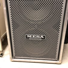 Mesa Boogie Road Warrior 2x15 Bass Cabinet Not Sure Of Year Black Road Case