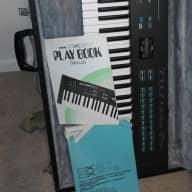 Yamaha DX27 Synthesizer 1970s Aged Black Satin