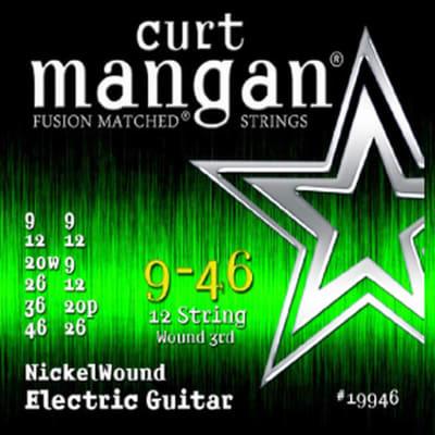 Curt Mangan 9-46 12-String Light Nickel Wound Set (Wound G)