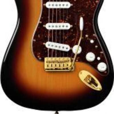 Fender Deluxe Players Stratocaster Rosewood Fingerboard 3-Color Sunburst 133000300 for sale