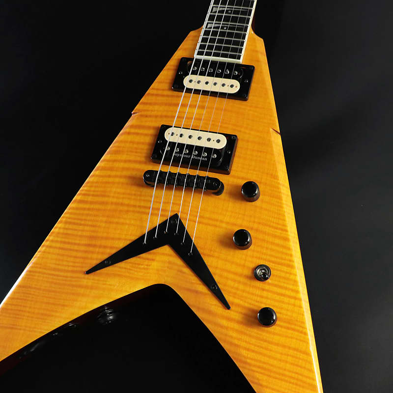 dean dave mustaine vmnt limited trans amber shipping reverb. Black Bedroom Furniture Sets. Home Design Ideas