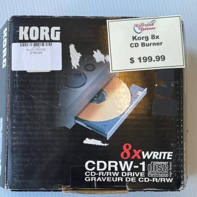 Korg CDRW 1 x 8 Re-writable CD Drive for Triton
