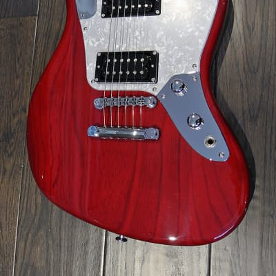 Bacchus Craft Japan Series - Windy Ash - Electric Guitar - Transparent Red - Clearance - Last One for sale