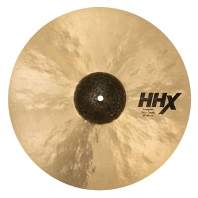 """Sabian 18"""" HHX Complex Thin Crash Cymbal"""