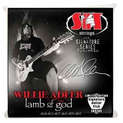 S.I.T Strings Willie Adler Signature Power Wound 10-48