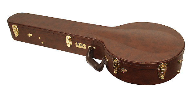 New Tkl 8940br Professional Arch Top Brown 5 String Resonator Reverb