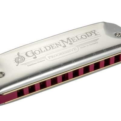 Hohner Golden Melody Harmonica- Key of A