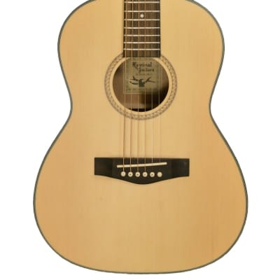 Revival RG-8 Dreadnought Body Shape 3/4 Size Spruce Top 6-String Acoustic Guitar for sale