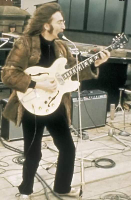 Gibson Epiphone John Lennon Revolution Casino Black Volume Reverb