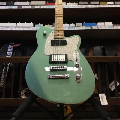 Reverend Double Agent OG with Maple Fretboard Metallic Alpine for sale