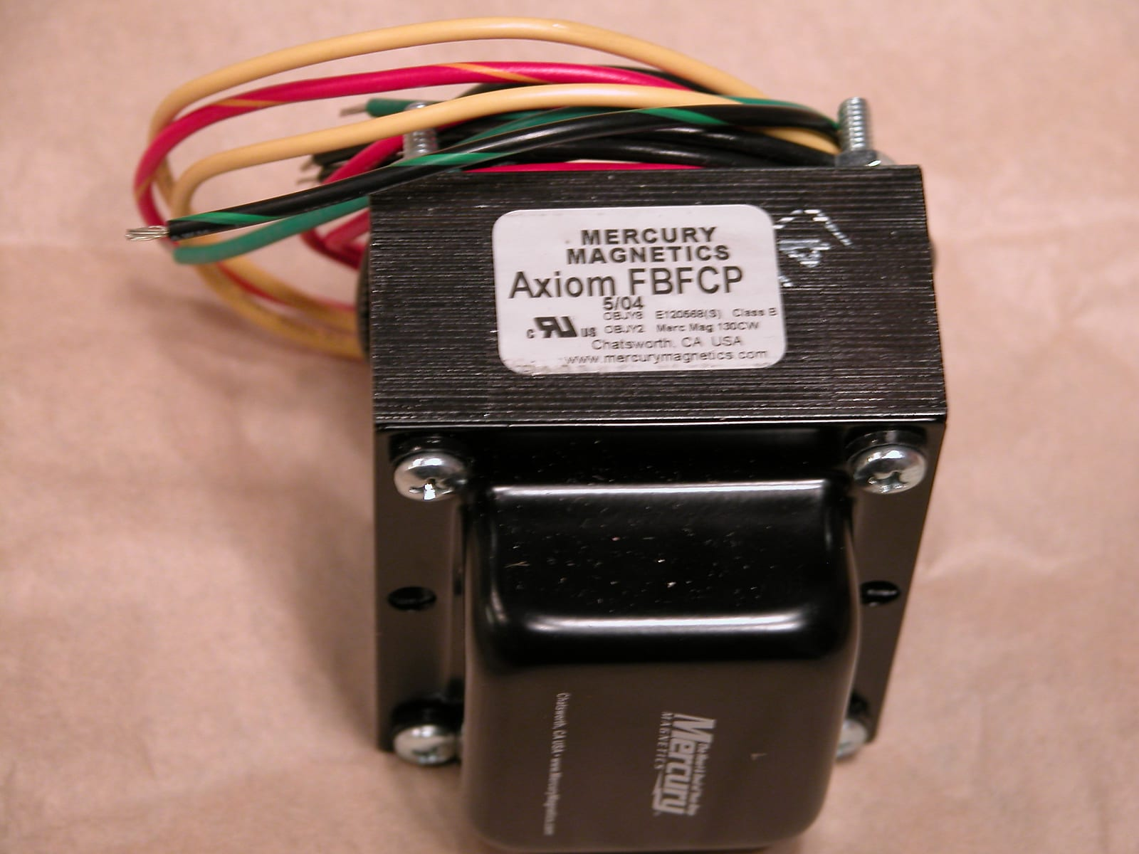 Mercury Magnetics Fender Champ Power Transformer fbfcp
