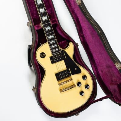 1972/73 Gibson  Les Paul Custom, Rare Alpine White Front/Back Tuxedo