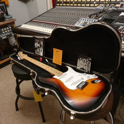 1994 USA Fender 40th Anniversary American Standard Stratocaster Tobacco Sunburst Strat OHSC for sale