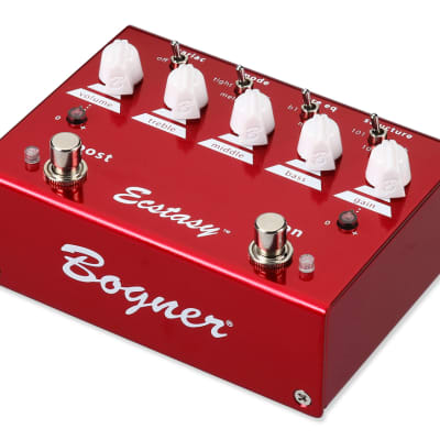 New Ecstasy Red Pedal - Guitar Effects Pedal