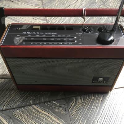 Tunamusic Roberts Radio 1980 Red for sale
