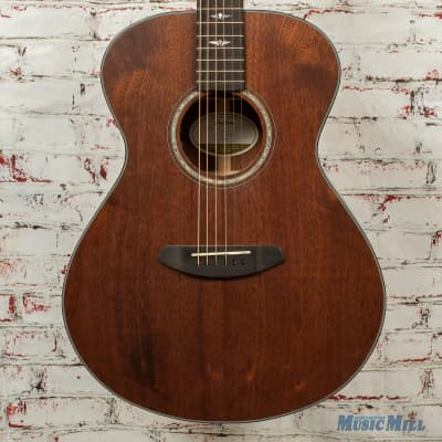 Breedlove Stage Concert E Acoustic/Electric Guitar All Mahogany Natural SATIN x4438 (USED)