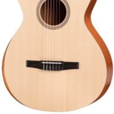 Taylor A12-N Academy Series Grand Concert Classical Acoustic Guitar with Gig Bag for sale