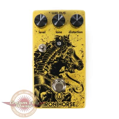 Walrus Audio Iron Horse V2 LM308 Distortion Pedal for sale