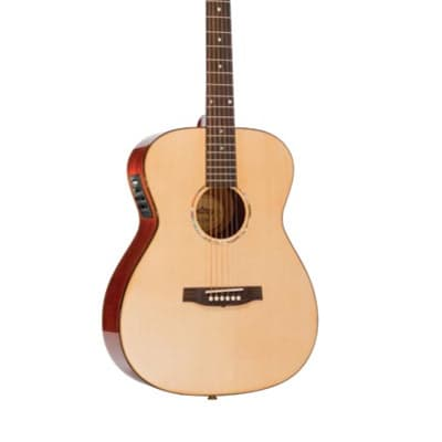 Monterey MF-730 All-Solid Folk Size Acoustic/Electric Guitar - Fishman Pickup for sale