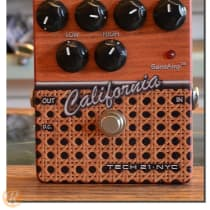 Tech 21 California Overdrive 2010s Graphic image