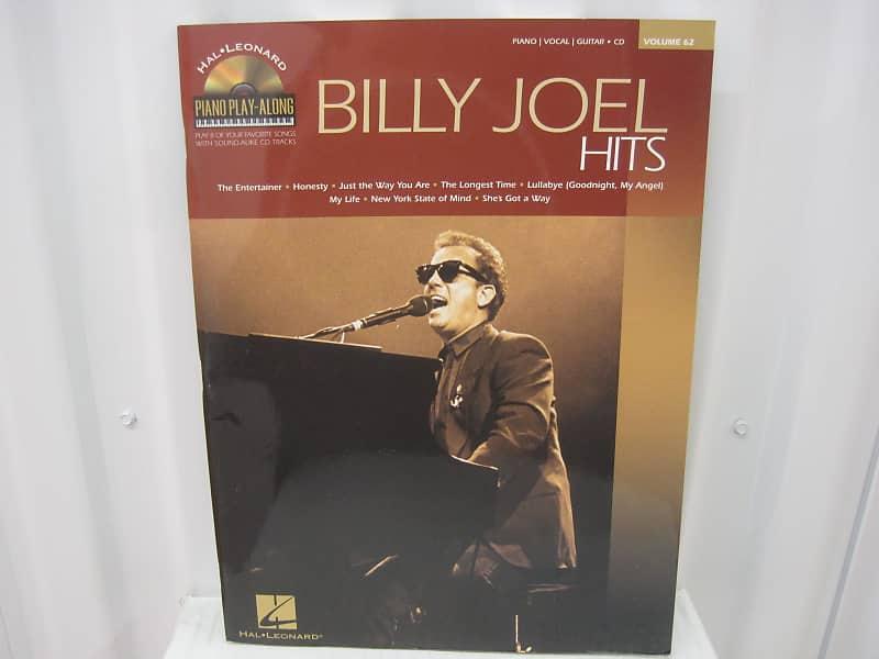 Billy Joel Hits Piano Play-Along Vol 62 CD Piano Vocal Guitar Sheet Music  Song Book Songbook