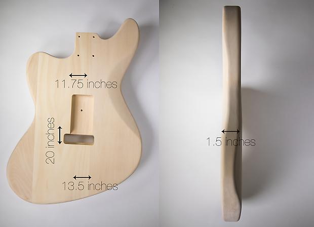 diy electric guitar kit jaguar style build your own guitar reverb. Black Bedroom Furniture Sets. Home Design Ideas