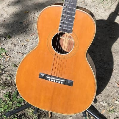 Lyon and Healy— Larson? Grand Concert Vintage Parlor guitar for sale