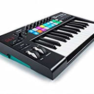 New Novation LaunchKey 25 MkII Keyboard Controller Mac & PC Pads, Free Ableton Live Lite & Sounds