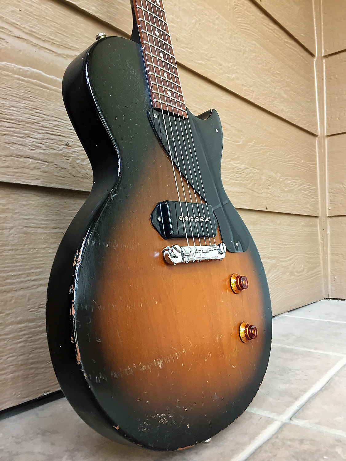 sold 2011 gibson les paul junior p90 the gear page. Black Bedroom Furniture Sets. Home Design Ideas