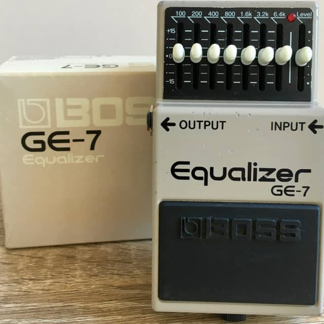 BOSS GE-7 Graphic Equalizer Pedal image