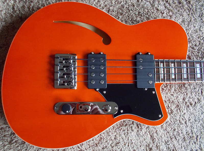Reverend Dub King Rock Orange E-Bass
