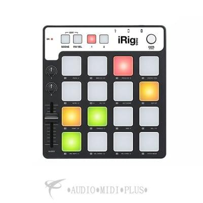 IK Multimedia iRig Pads Ultra-portable Midi Pad Controller - IPIRIGPADSIN - 888680043476