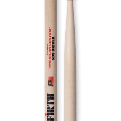 Vic Firth American Custom Maple SD9 Driver Wood Tip (1-Pair)