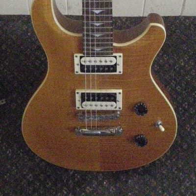 Tradition MTP-350 2003 Trans Amber Flame Top PRS-Clone for sale