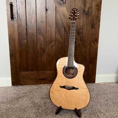 Petros Dreadnaught 2018 Cocobolo and Bearclaw Spruce for sale