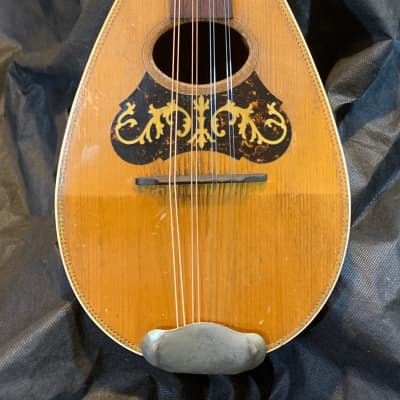 American Conservatory Bowl Back Mandolin - 1890s Brazil Rosewood, Great Player, Case - Ships  FREE for sale
