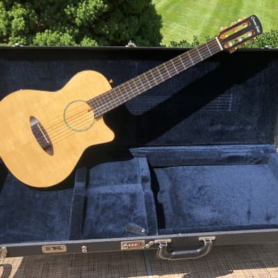 Carruthers ACN - Mahogany/Spruce   5lb-2oz     Fishman for sale