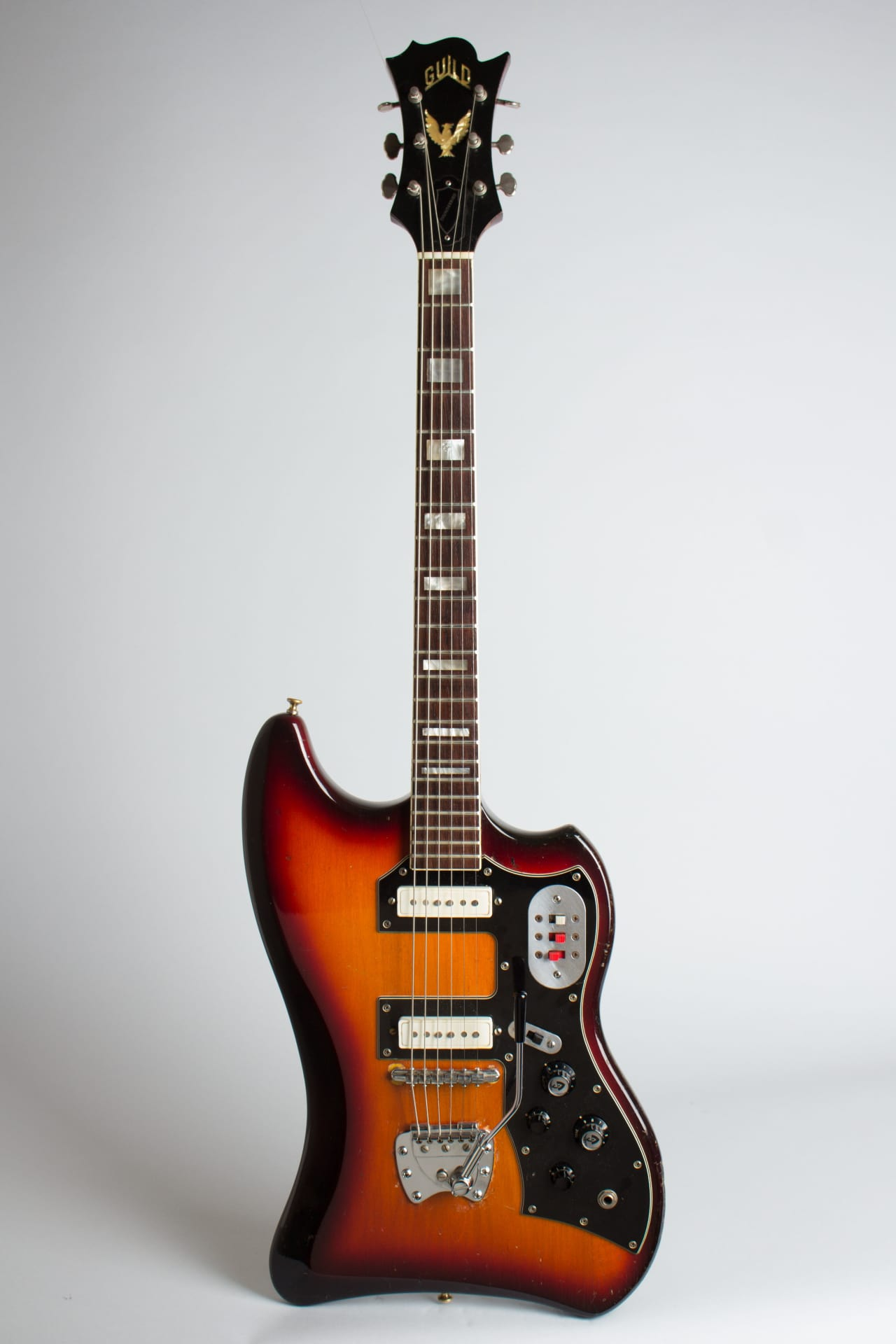 guild s 200 thunderbird solid body electric guitar 1965 reverb. Black Bedroom Furniture Sets. Home Design Ideas