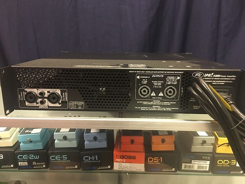 peavey ipr2 5000 poweramp deloach 39 s music and sound reverb. Black Bedroom Furniture Sets. Home Design Ideas