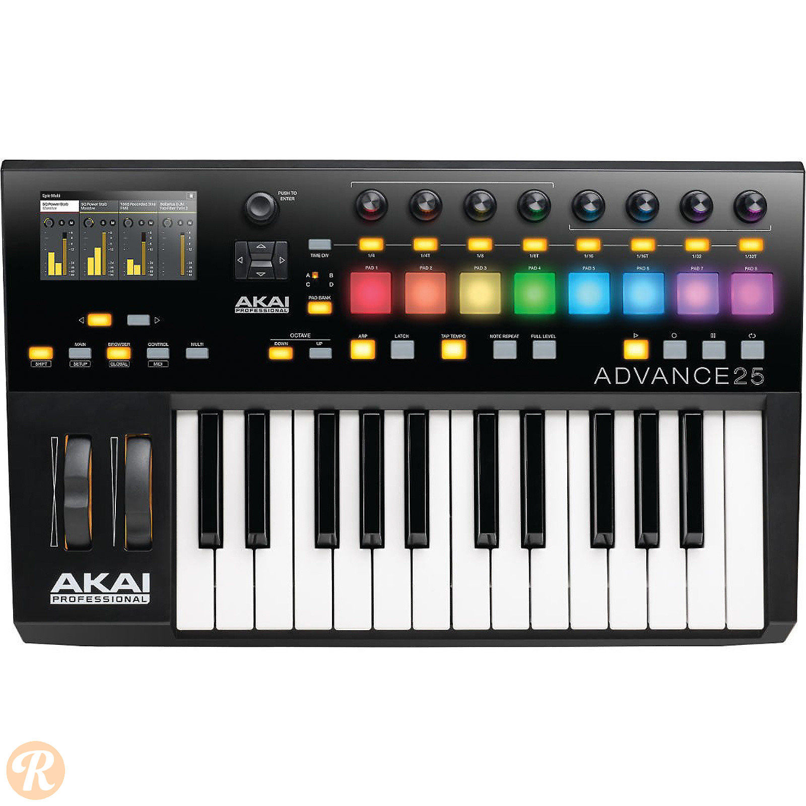 akai advance 25 keyboard controller reverb. Black Bedroom Furniture Sets. Home Design Ideas