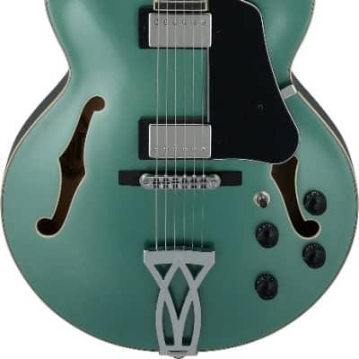 Ibanez AF Artcore Olive Metallic AF75 OLM Hollow Body Electric Guitar for sale