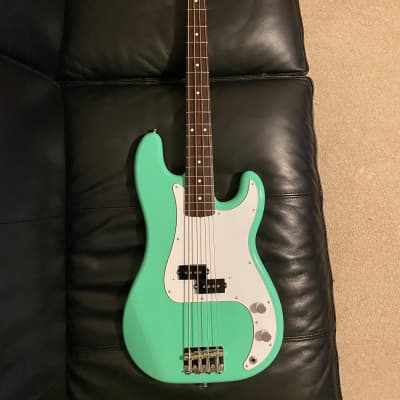 Fender Traditional '60s Precision Bass MIJ Surf Green for sale
