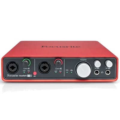 Focusrite Scarlett 6i6 USB 2.0 Audio Interface