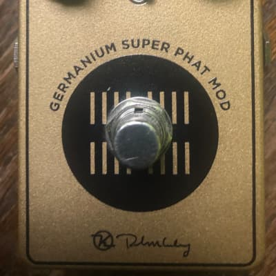 Keeley Germanium Super Phat Mod Overdrive Signed and Numbered 2017 Gold