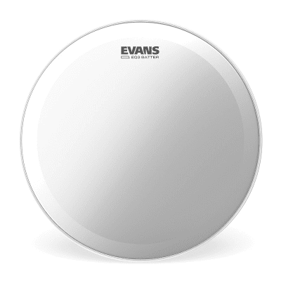 Evans BD18GB3C EQ3 Frosted Bass Drum Head - 18""