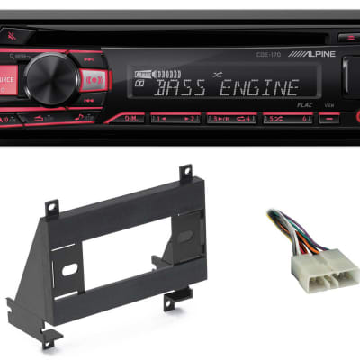 ALPINE CD Receiver Stereo Android/MP3/WMA/USB/AUX For 1993-1997 GEO Prizm
