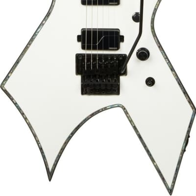 B.C. Rich Warlock Extreme with Floyd Rose - Matte White for sale