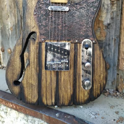Martper Guitars Telecaster ➤Custom Shop  Old Wood Vintage