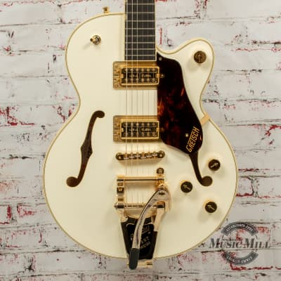 Gretsch G6659TG Players Edition Broadkaster Jr. Electric Guitar Vintage White x4628